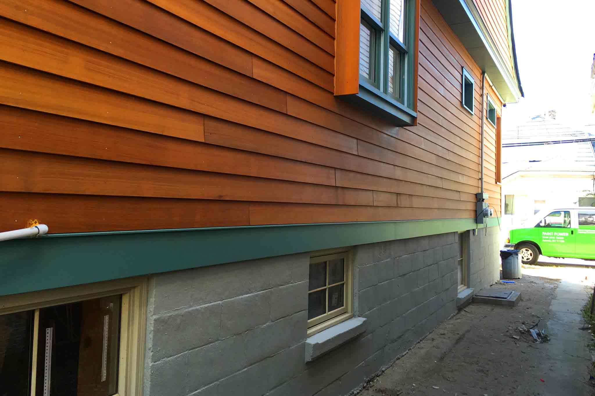 Foundation Exterior Painting