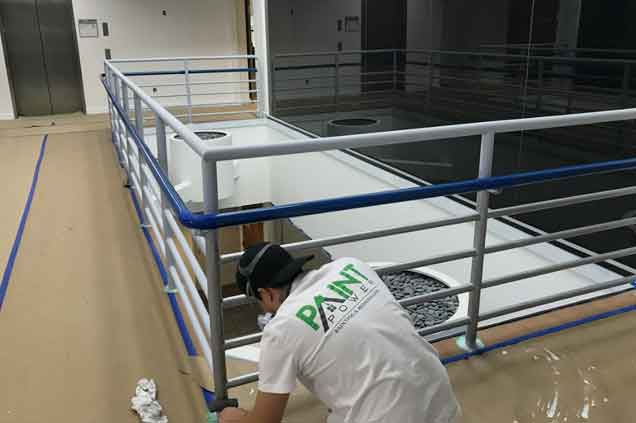 Interior Metal Handrails